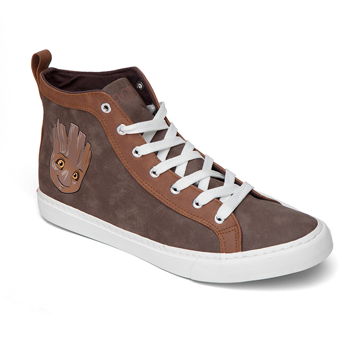 Guardians Of The Galaxy Baby Groot High Top Sneakers Another Universe