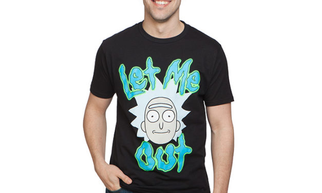 Rick and Morty Tiny Rick Let Me Out T-Shirt
