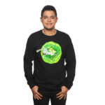 Rick and Morty Portal Long Sleeve T-Shirt