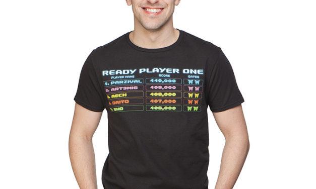 Ready Player One Scoreboard T-Shirt