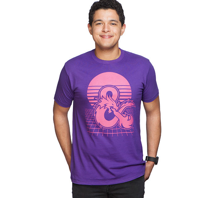 Dungeons and Dragons Galactic T-Shirt