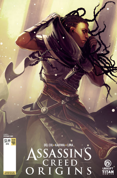 Assassins Creed Origins #1 (Cover A – Hans)