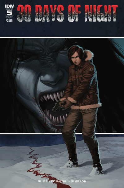30 Days of Night #5 (of 6) (Cover B – Kowalski & Folny)