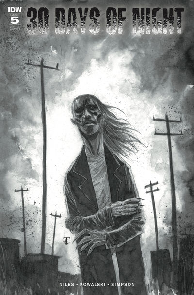 30 Days of Night #5 (of 6) (Retailer 10 Copy Incentive Variant)