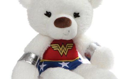DC Comics Wonder Woman Fuzzy 14-Inch Plush