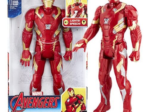 Avengers 12-inch Electronic Iron Man Action Figure
