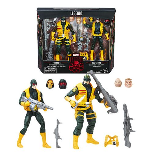 Marvel Legends Hydra Soldier 2-Pack 6-inch Action Figures – Toys R Us Exclusive