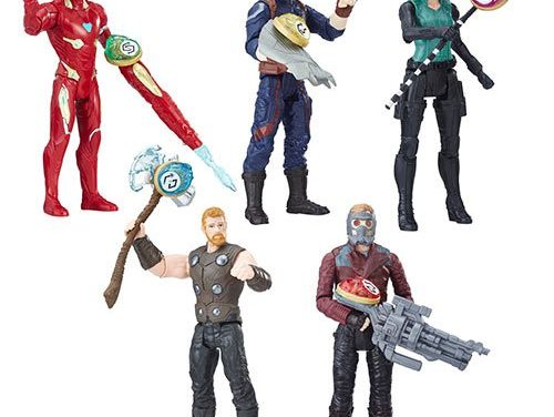 Avengers: Infinity War 6-Inch Figures Stones Accessory Wave 1 – Free Shipping