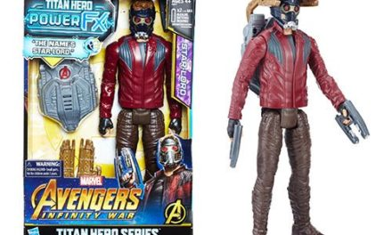 Avengers: Infinity War Titan Hero Power FX Star-Lord Action Figure