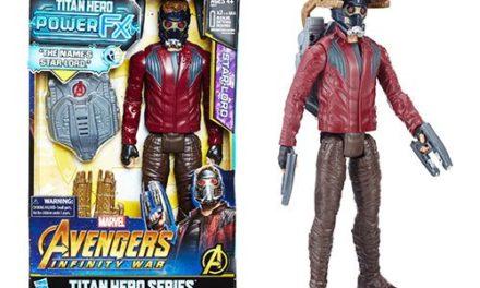 Avengers: Infinity War Titan Hero Power FX Star-Lord Action Figure
