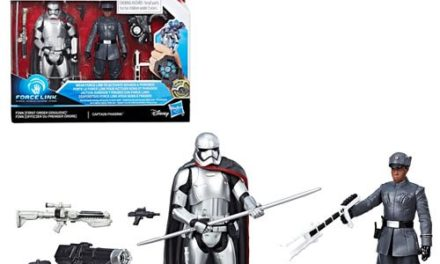Star Wars: The Last Jedi Finn (First Order Disguise) vs. Captain Phasma 3 3/4-Inch Figures – Exclusive