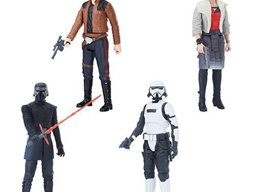 Star Wars Solo Titan Hero 12-Inch Action Figures Wave 1 Set