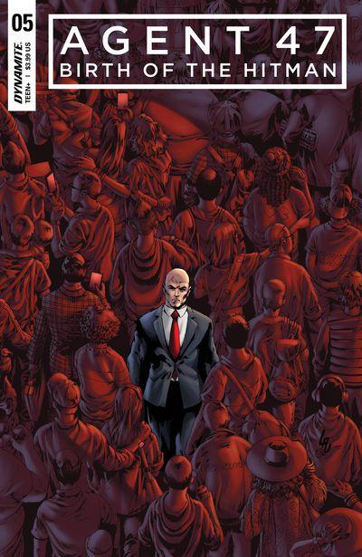 Agent 47 Birth of Hitman #5 (Cover A – Lau)
