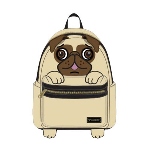 Pug Face Mini Backpack