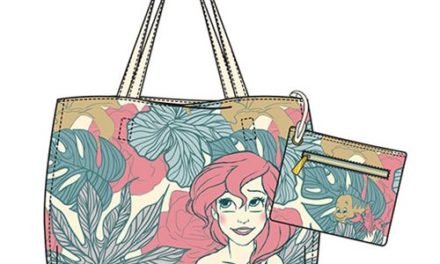 Little Mermaid Ariel Leaves Tote Purse