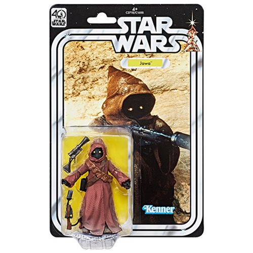 Star Wars Black Series 40th Anniversary Jawa Figure, Not Mint