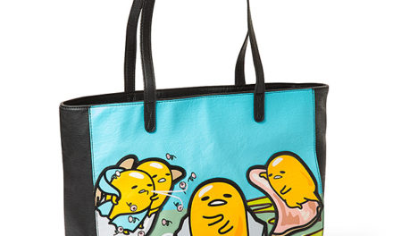 Museum of Gudetama Leather Tote Bag