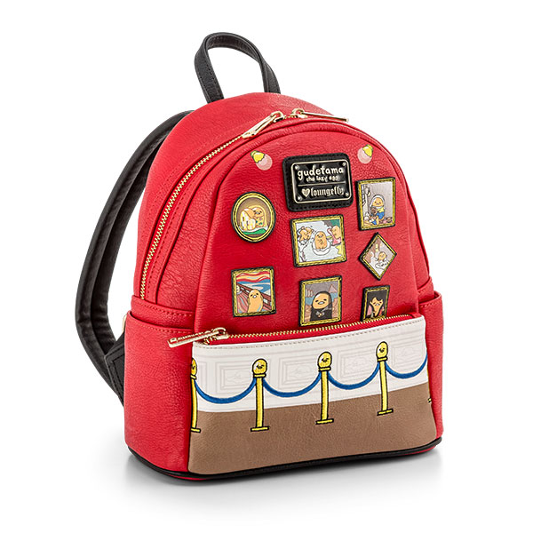 Museum of Gudetama Mini Leather Backpack