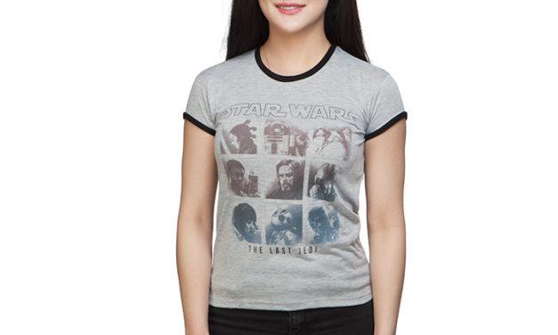 Star Wars The Last Jedi Ombre Ladies' T-Shirt