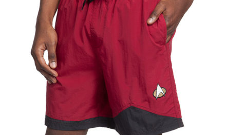 Star Trek TNG Swim Trunks