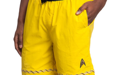 Star Trek TOS Swim Trunks