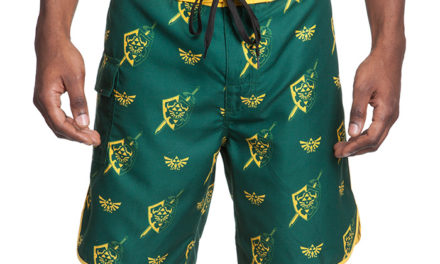 Legend of Zelda Board Shorts