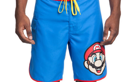 Super Mario Board Shorts