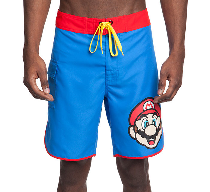 Super Mario Board Shorts