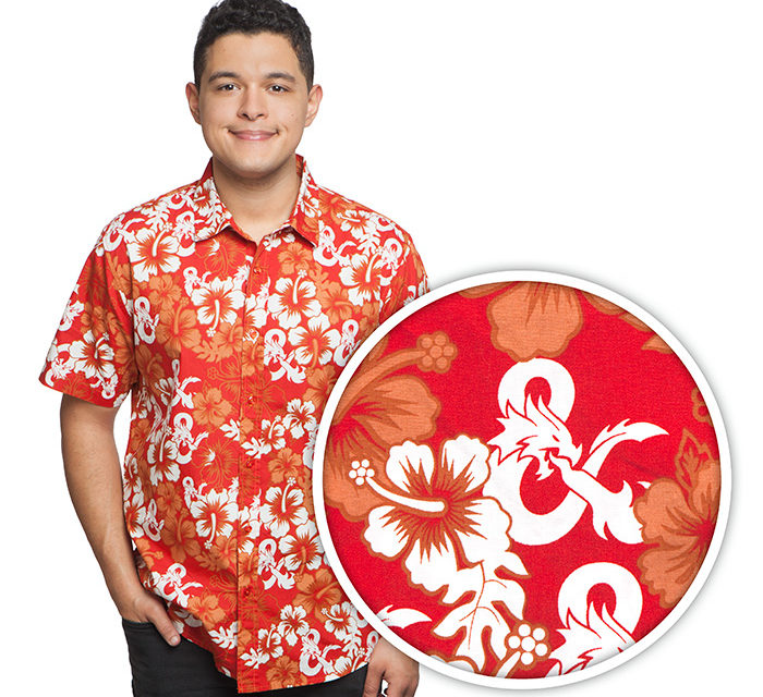 Dungeons and Dragons Hawaiian Shirt