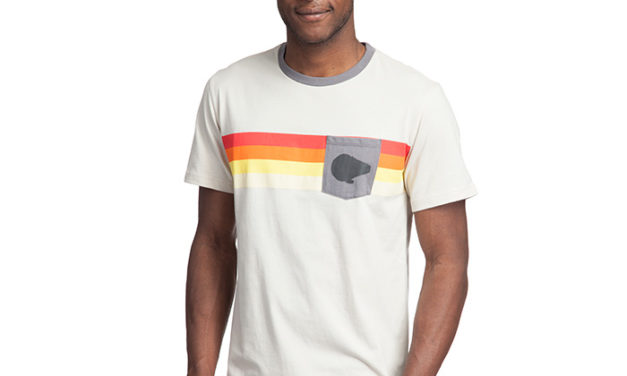 Star Wars Millennium Falcon Stripe Pocket T-Shirt