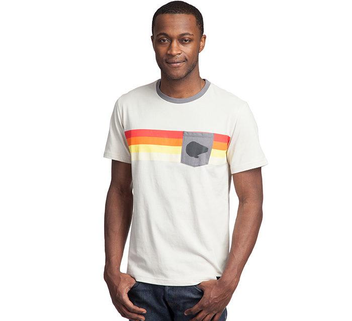 Star Wars Millennium Falcon Stripe Pocket T-Shirt