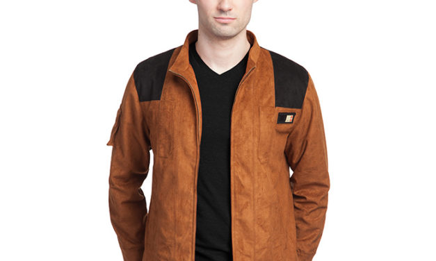 Star Wars: Solo Han Solo Faux Suede Replica Jacket
