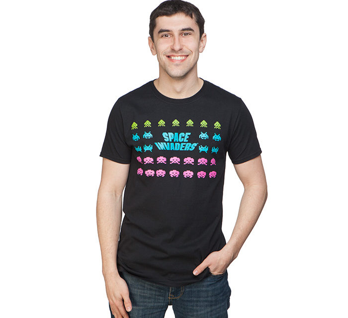 Space Invaders The Invaders T-Shirt
