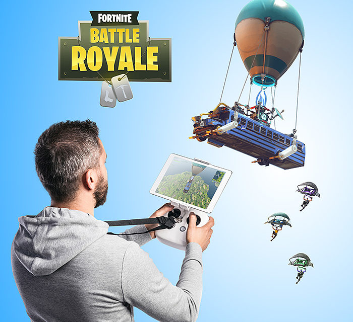 Fortnite R/C Battle Bus