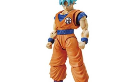 Dragon Ball Super Son Goku Super Saiyan God Figure-rise Standard Model Kit