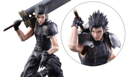 Final Fantasy VII Crisis Core Zack Fair Play Arts Kai Action Figure – Free Shipping