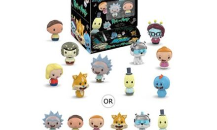 Rick and Morty Pint Size Heroes Mini-Figure Random 6-Pack