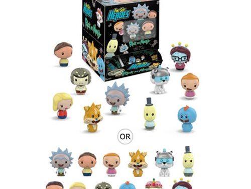 Rick and Morty Pint Size Heroes Mini-Figure Random 6-Pack