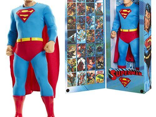 DC Comics Tribute Series Superman 19-Inch Big Figs Action Figure