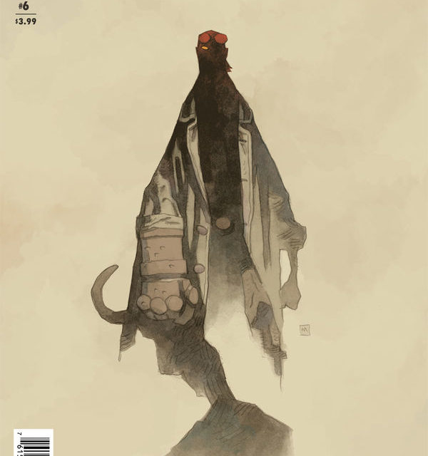 B.P.R.D.: The Devil You Know #6 (Mike Mignola Variant Cover)