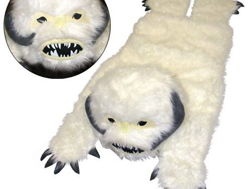 Star Wars Wampa Plush Throw Rug – Free Shippin