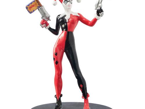 Batman Harley Quinn DC Comics 4-Inch Mini-Statue