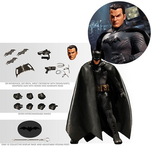 Batman Ascending Knight One:12 Collective Action Figure – Gray Suit – Free Shipping
