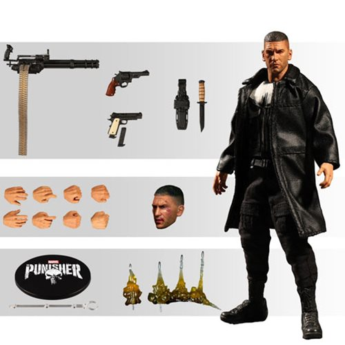 Punisher Netflix One:12 Collective Action Figure – Free Shipping