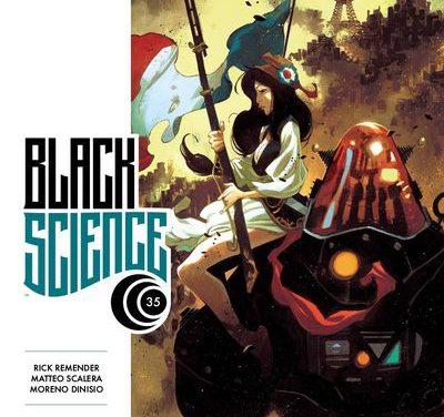 Black Science #35 (Cover A – Scalera & Dinisio)