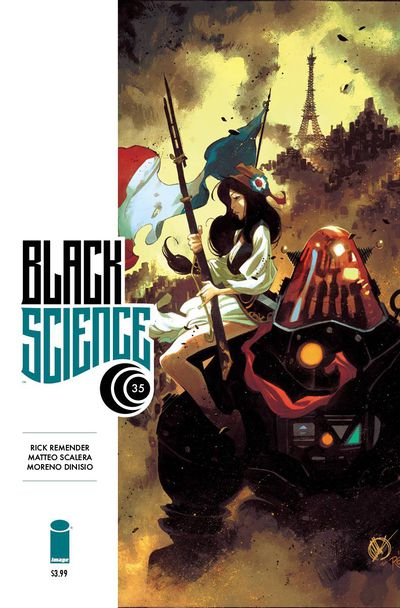 Black Science #35 (Cover A – Scalera & Dinisio)