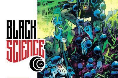 Black Science #35 (Cover B – Samnee)