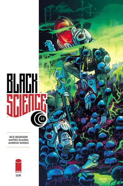 Black Science #35 (Cover B – Samnee)