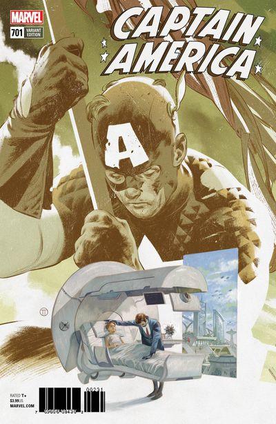 Captain America #701 (Tedesco Connecting Variant)