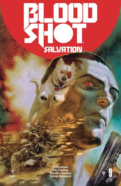 Bloodshot Salvation #9 (Cover B – Guedes)